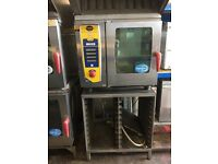Rational SCC61 5 Grid Oven with Stand and Ultravent hood (Can be Single Phase or 3 phase)