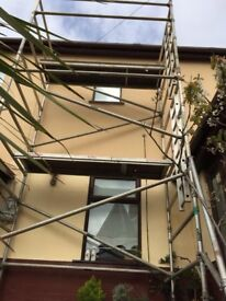 Instant 6.8m WH alloy scaffold tower