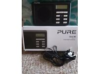 PURE One MI Portable Digital Radio - Black