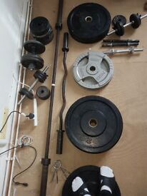 gym equipment olympic barbell