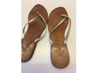 Leather Flip Flops size 41