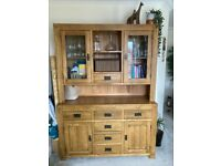 Oak dresser - must sell