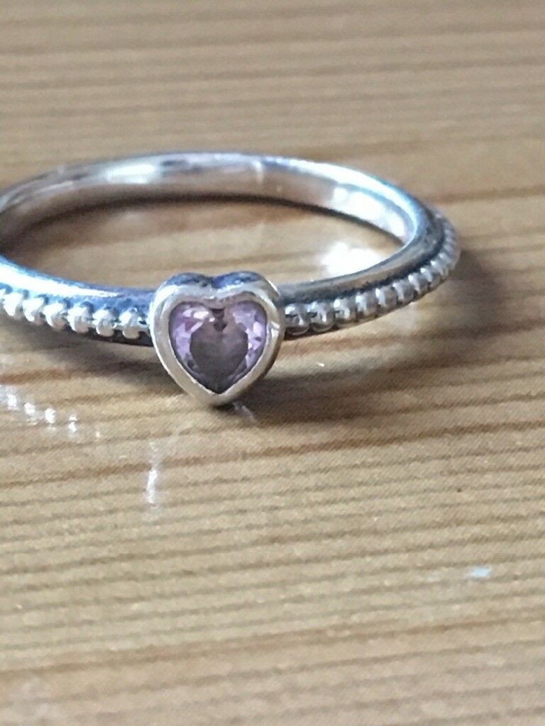 d1d832a1f Pandora delicate heart stacking ring   in Ipswich, Suffolk   Gumtree