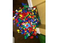 Mega block bundle with cars, paw patrol and fire engine