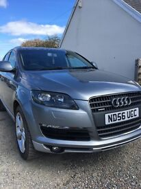 2006 AUDI Q7 SE QUATTRO TDI GREY 7 seats, DVD players