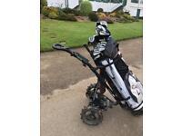 Powerbug electric golf trolley