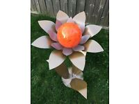 Large Sculpture Ornament Flower £32 or Nearest Offer