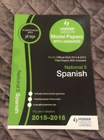 Spanish National 5 Past Papers