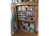 Solid pine book case
