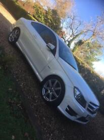 Mercedes C180 AMG Sport White Auto