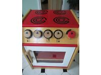 Childs wooden role play cooker