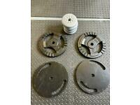 1 inch weight plates- 45 kg