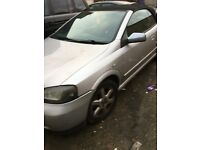 Vauxhall Astra Convertable 2004 excellent runner but selling as a spare or repair due to bodywork.