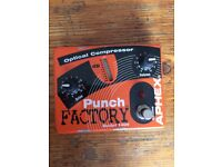 Aphex model 1404 Punchfactory optical compressor pedal