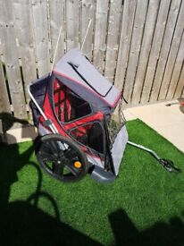 Bellelli s.r.l Child Bike Trailer £90 ONO Sold as seen. NO REFUNDS. Collection Clydebank