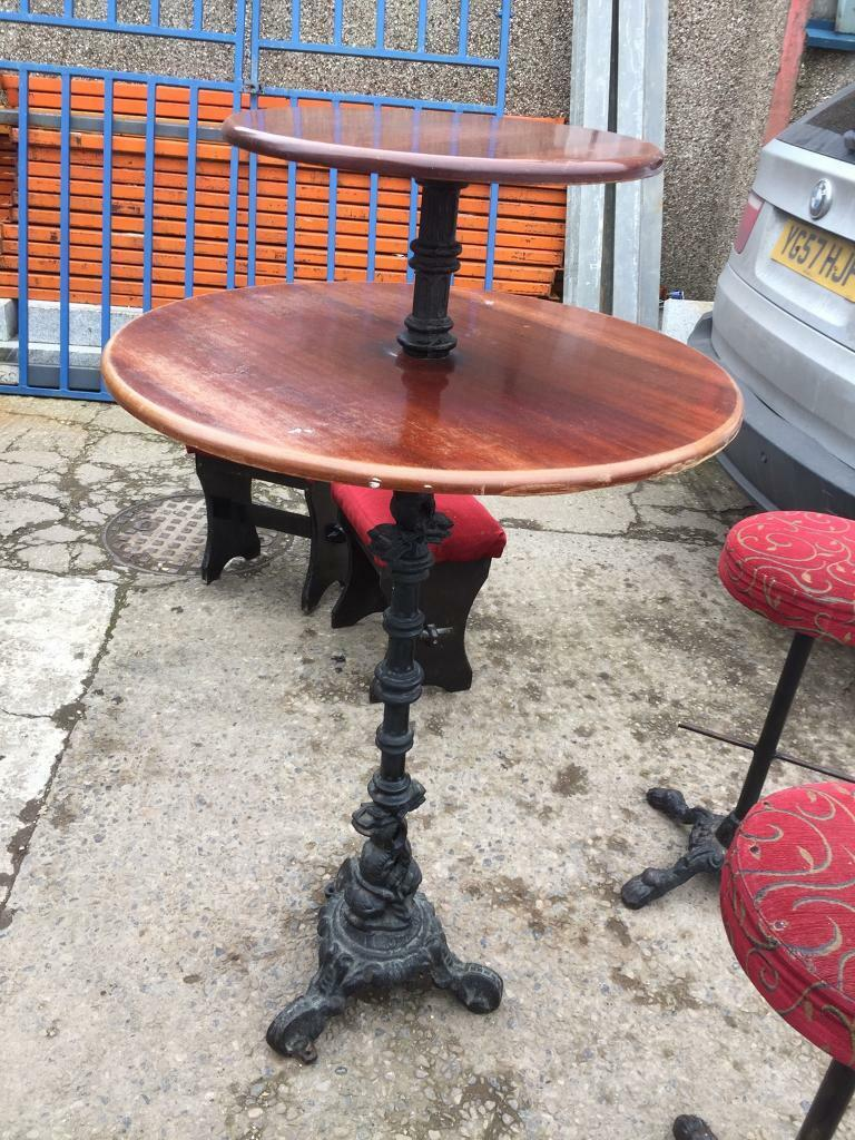 b9b05dd93f Poser table 2 stools | in Marton-in-Cleveland, North Yorkshire | Gumtree