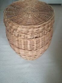 Wicker Linen Basket - used but good condition