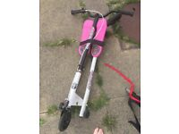 Girls flicker scooter- great condition