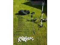 Golf clubs, bag, balls & Trolley - Everything you need