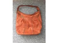 Tan Fossil over shoulder bag