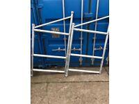 Boss cantilever frames alloy scaffolding