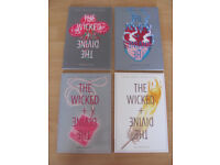 Image Comics 'Wicked and Divine' graphic novels 1-4 for sale Gillen McKelvie grt cdtn