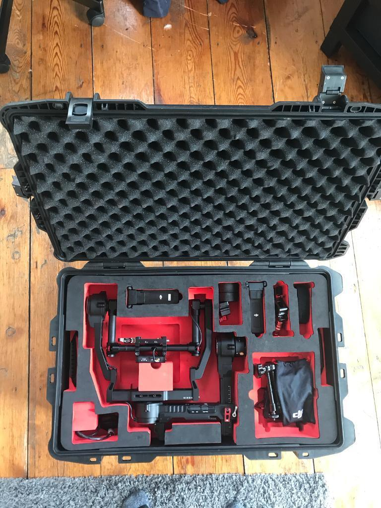 DJI Ronin with Extended Arms