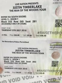 Justin tickets SOLD