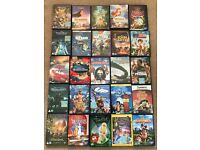 Disney DVDs - 55 assortment