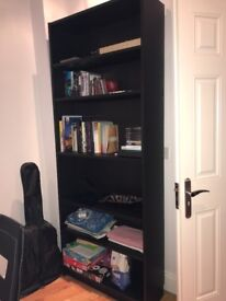 Billy bookcase black