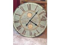 2ft Antique Style wall clock
