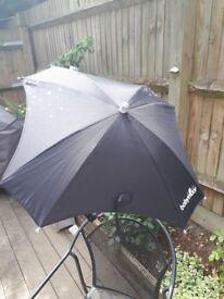 Universal pram parasol/umbrella