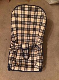 burberry baby/bouncer chair