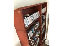 Industrial Vintage CD / bookshelf