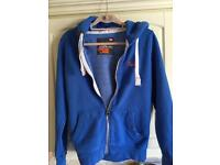 Blue Superdry Hoodie excellent condition