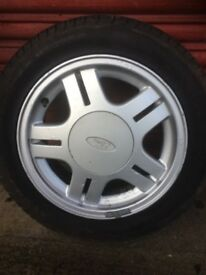 Genuine ford rs 1800i alloy wheels