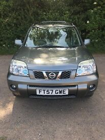 Nissan X-TRAIL Columbia 2.5 petrol 5d (Sat Nav) 57 plate (registered in 2008) 103,592 miles
