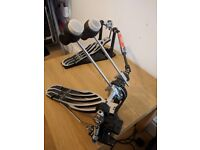 Gibraltar double kick pedal - exc condition, almost new