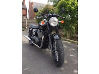 Triumph Bonneville T100 Black (15)