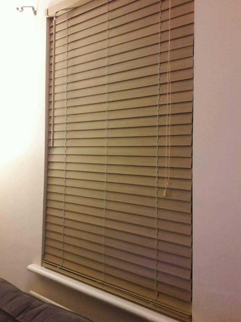 Oak Wooden Blind Homebase 90x150cm