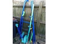 Sea saw and swing set