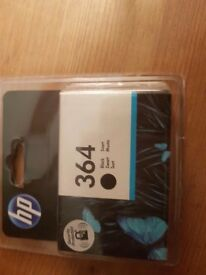 364 HP black inkjet printer cartridge