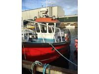 Cygnus 28 foot fishing boat