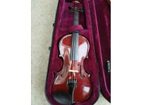 Quarter size violin from Stringers of Edinburgh