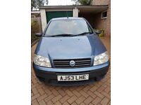 2003 Fiat Punto Active 1.2 5-door Long MOT