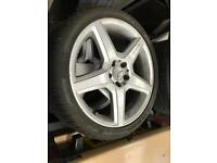 MERCEDES AMG 19 Inch CLS ALLOYS WITH TYRES