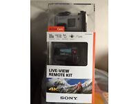 Brand New Sony x1000vr 4K Action Camera