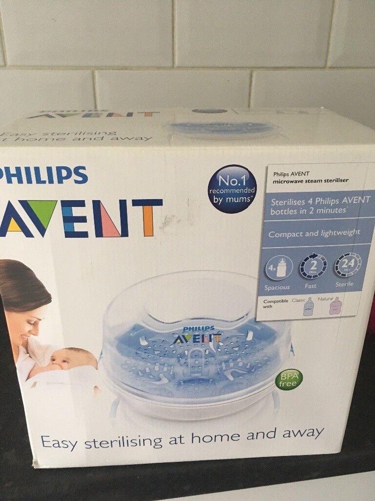 Brand new Avent microwave steriliser