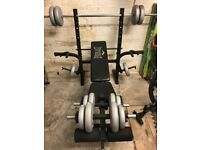 Everlast Weight Training Bench