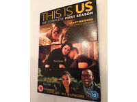 This Is Us - Complete First Season - BNIB - REDUCED